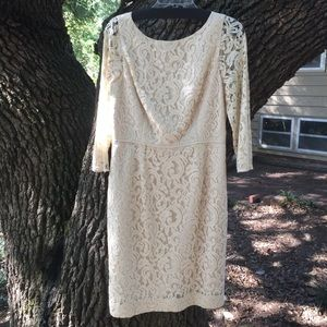 J.Crew Cream Lace Wedding Dress